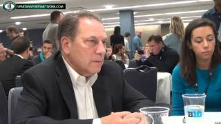 Tom Izzo round table questions at Big Ten Media Day 2014
