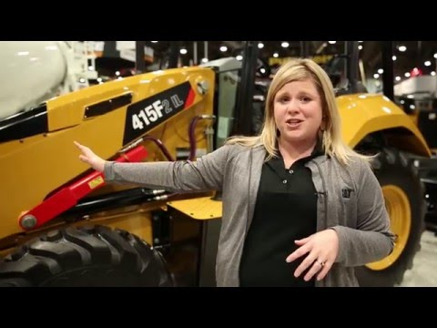Cat Redesigns 415F2 Industrial Loader Cabin For Operator Comfort, Productivity