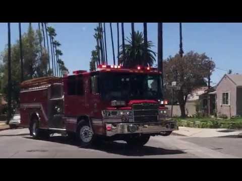 Glendale fd ca engine ambulance 27 youtube for Department of motor vehicles glendale ca