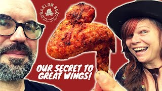How to Smoke Chicken Wings on a Charcoal Grill  Our Secret to Crispy, Tender Hot Wings  Barlow BBQ