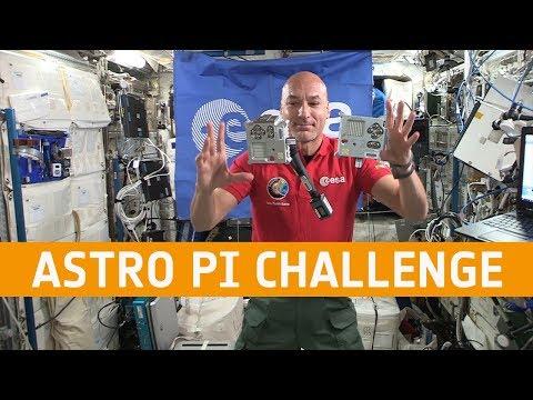 Luca Parmitano launches the 2019-20 European Astro Pi Challenge