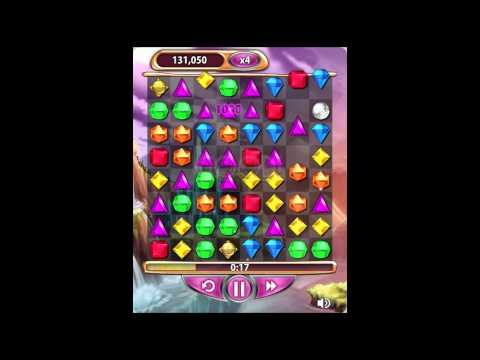Bejeweled Blitz 6 Gem Hypercube Juggle Replay of LIVE VIDEO