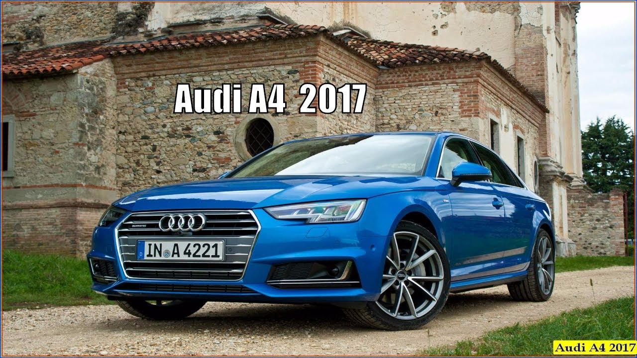 New Audi A4 2017 Quattro Interior Exterior Specs