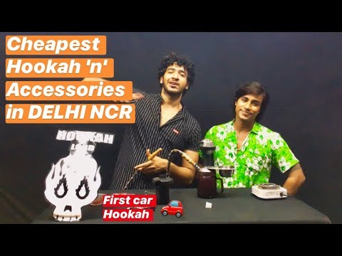 Cheapest Hookah In Delhi Ncr, Car Hookah And Accessories | Ravi Rastogi