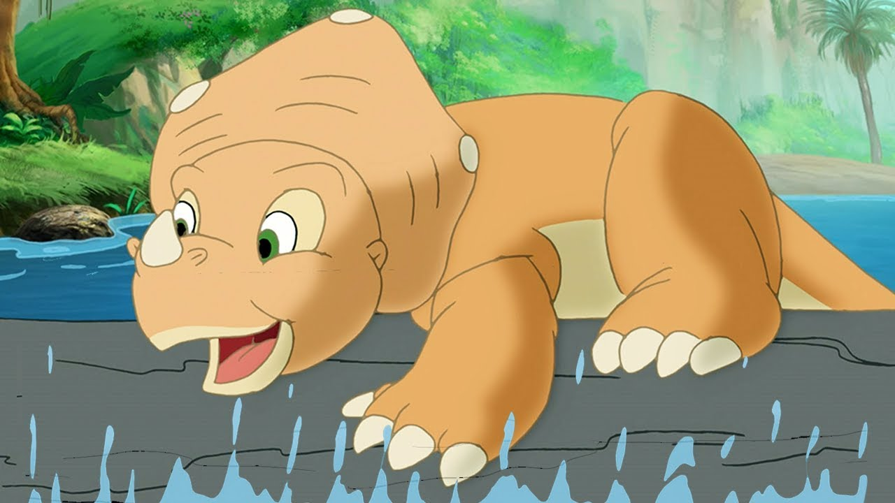 The Land Before Time Full Episodes | The Great Log Running Game 107 | HD |  Videos For Kids