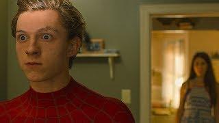 Тётя Мэй узнаёт, что Питер Паркер - Человек Паук. Человек-паук: Возвращение домой. 2017