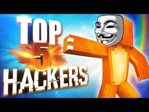 TOP 5 HACKERS - SEMANA 11 | EL HACKER MÁS CAGAO DE MINECRAFT