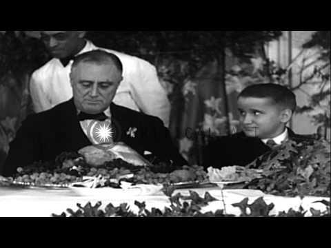 D. K. Smith - November 26, 1941 FDR establishes modern Thanksgiving holiday