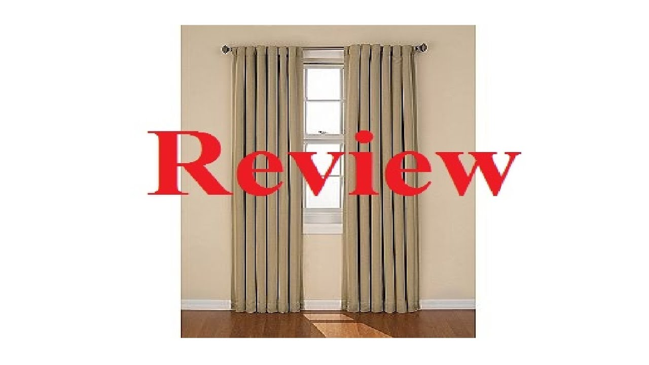 Eclipse Blackout Curtain Review   YouTube