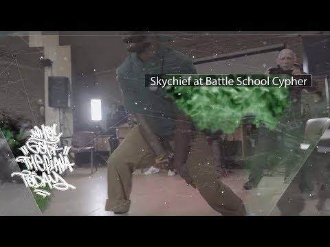 Who Got The Flava Today? Skychief At Battle School Cypher