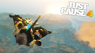 THE JETPACK WINGSUIT in Just Cause 4