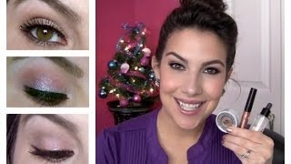 Sparkly Makeup! 3 Ways to Wear It