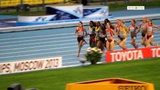 финал 1500 м. женщины. ЧМ по легкой атлетике 2013. VeryVery.ru