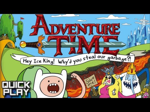 Quick Play - Adventure Time: Hey Ice King! Why'd You Steal Our Garbage?! Demo (3DS)
