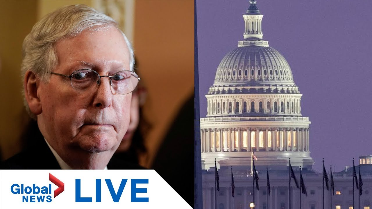 McConnell to address next steps in Trump impeachment trial as Senate convenes | LIVE