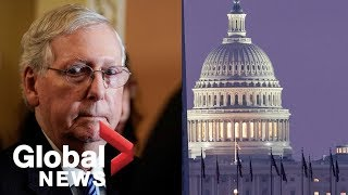 McConnell and Schumer address Trump impeachment trial as Senate convenes