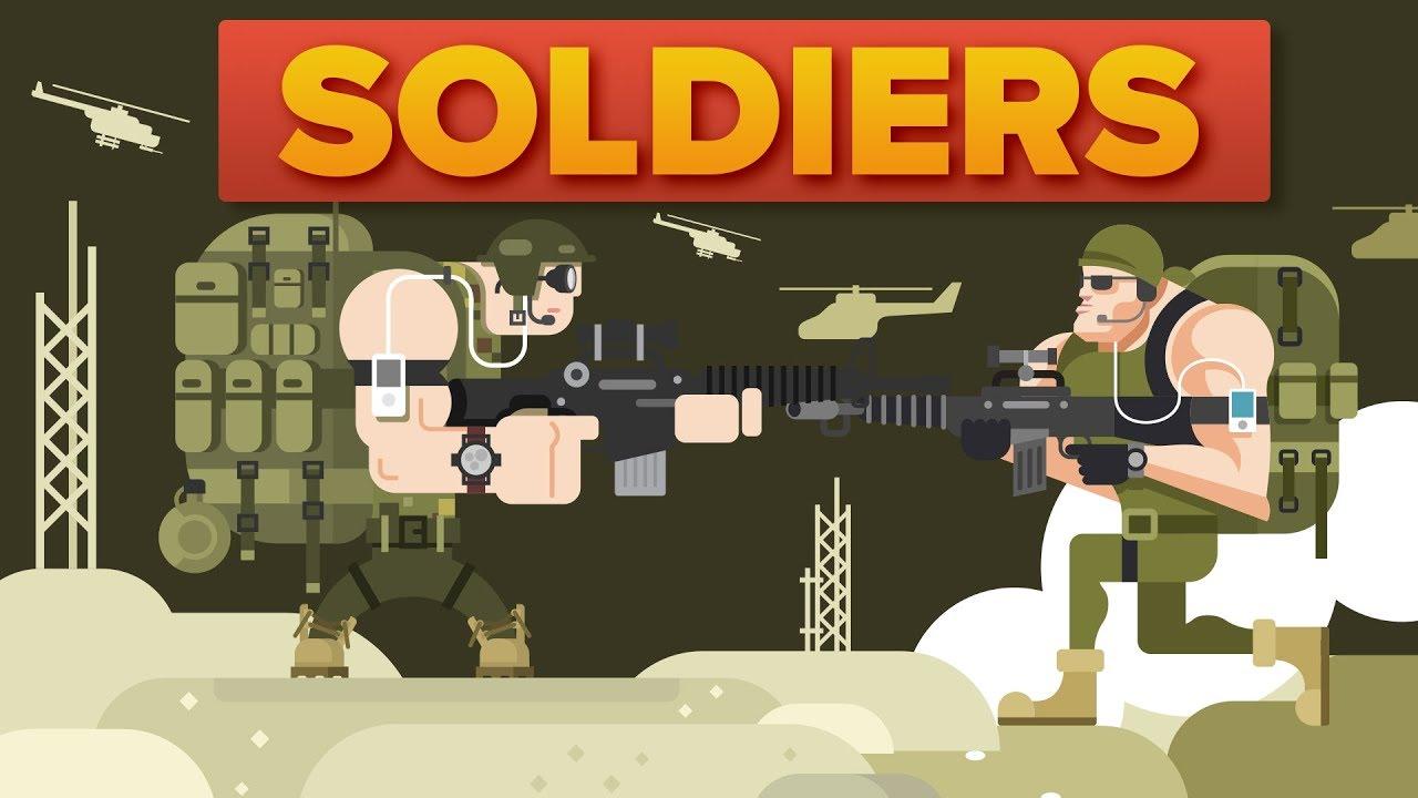 American Soldier (USA) vs British Soldier - Military Comparison