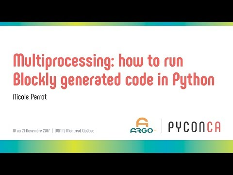 Image from Multiprocessing: how to run Blockly generated code in Python