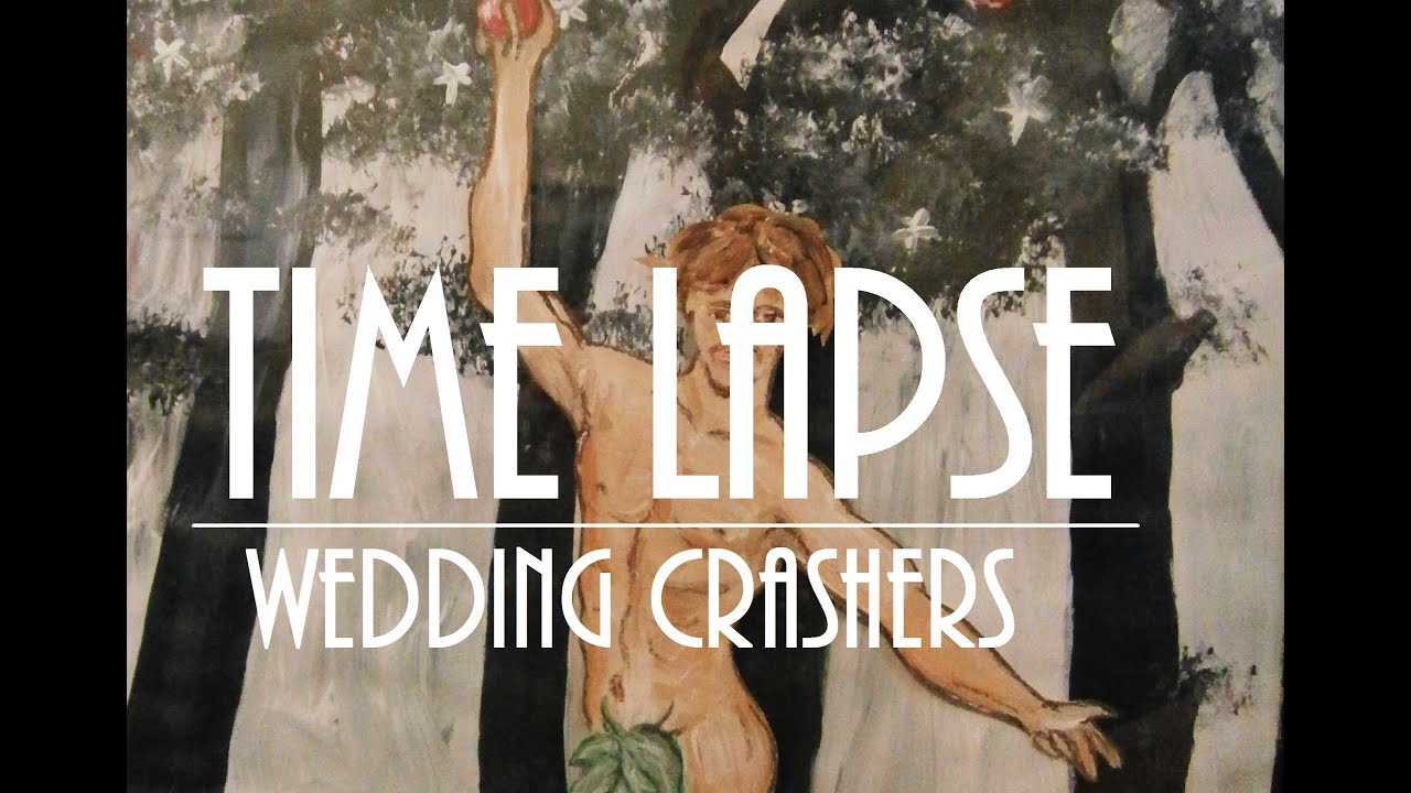 Wedding Crashers Inspired Painting (Time Lapse) - YouTube