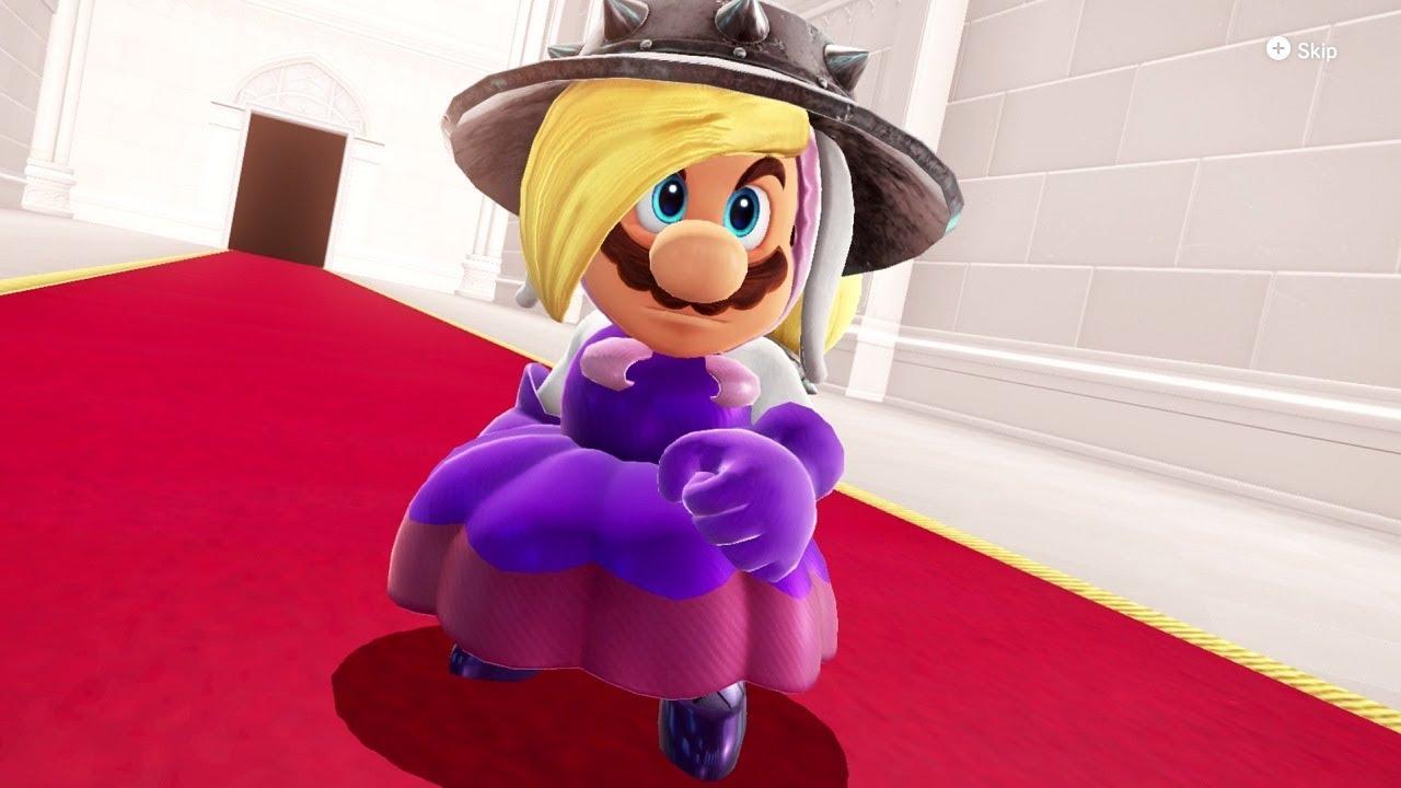 Super Mario Odyssey - Hariet (Broodal) Costume Gameplay (DLC Showcase)