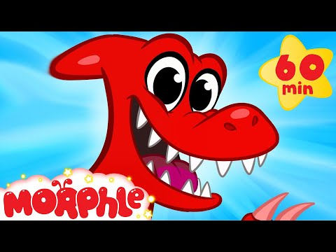 My Pet Dinosaur: Ptyrodactyl + 1 hour Cartoons for kids compilation by My Magic Pet Morphle