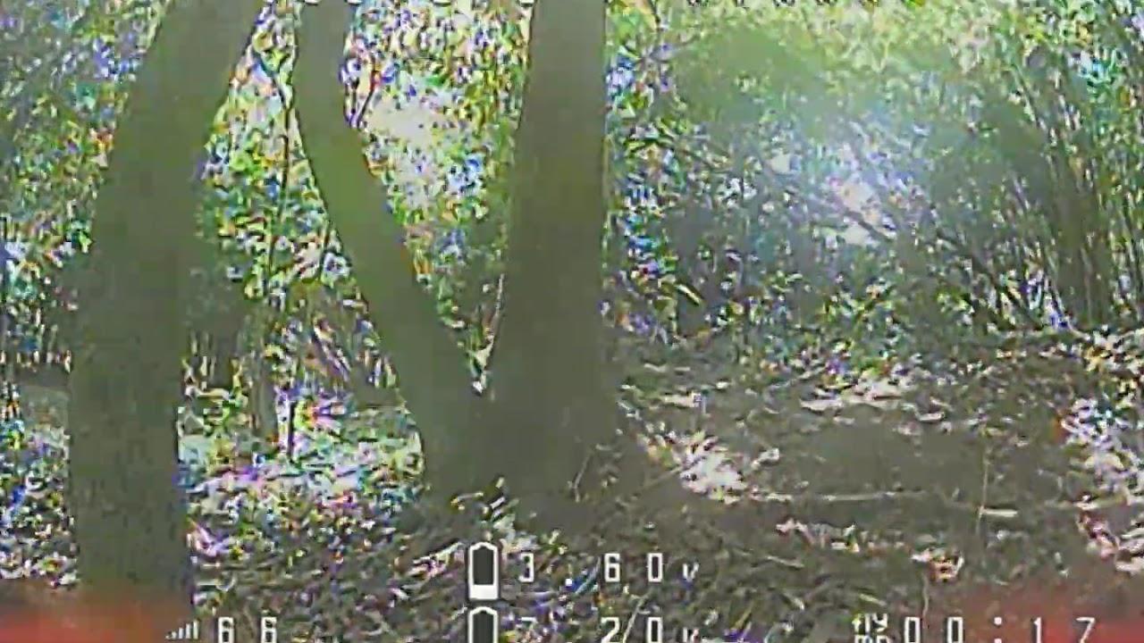 FPV Drone follows Trials Biker фото