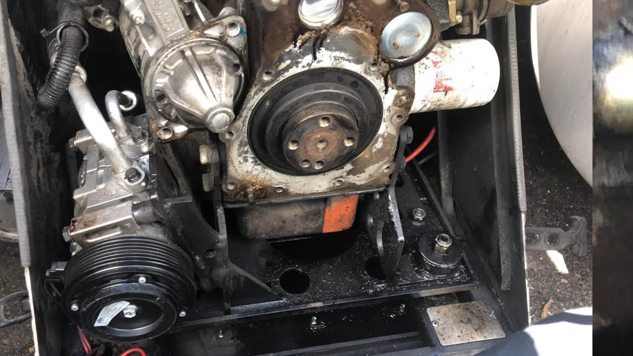 Fixed My Rear Main Seal On My Rigmaster APU by Trucking With Trucker Mike