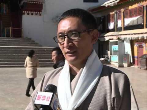 World's longest Tibetan calligraphy scroll donated
