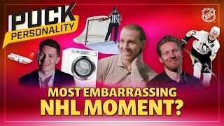What is Your Most Embarrassing NHL Moment? | Puck Personality