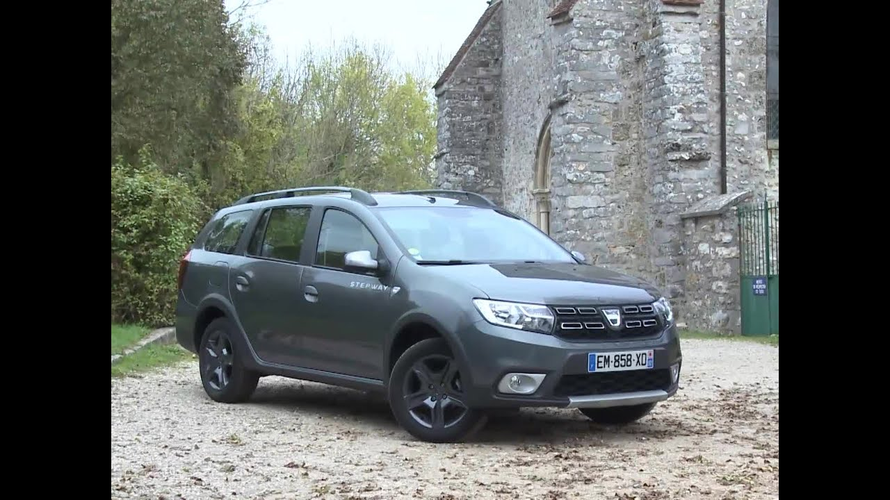 essai dacia logan mcv 1 5 dci 90 stepway 2017 youtube. Black Bedroom Furniture Sets. Home Design Ideas