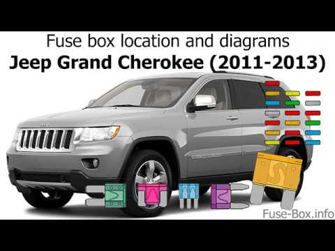[SCHEMATICS_48IS]  Fuse box location and diagrams: Jeep Grand Cherokee (2011-2013) - YouTube | 2013 Grand Cherokee Fuse Diagram |  | YouTube