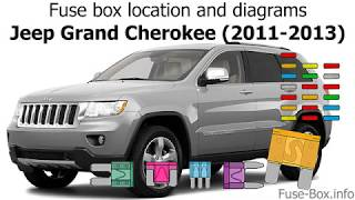 [WQZT_9871]  Fuse box location and diagrams: Jeep Grand Cherokee (2011-2013) - YouTube | 2013 Grand Cherokee Fuse Diagram |  | YouTube