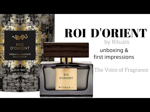 Roi D'Orient By Rituals Unboxing 1st Impressions - A Better Valentino Uomo??