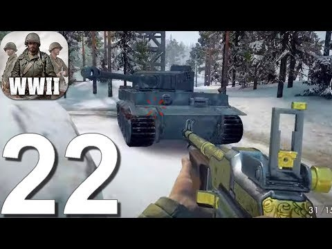 World War Heroes: WW2 Shooter - Gameplay Walkthrough Part 22 - New Update (Android, IOS)