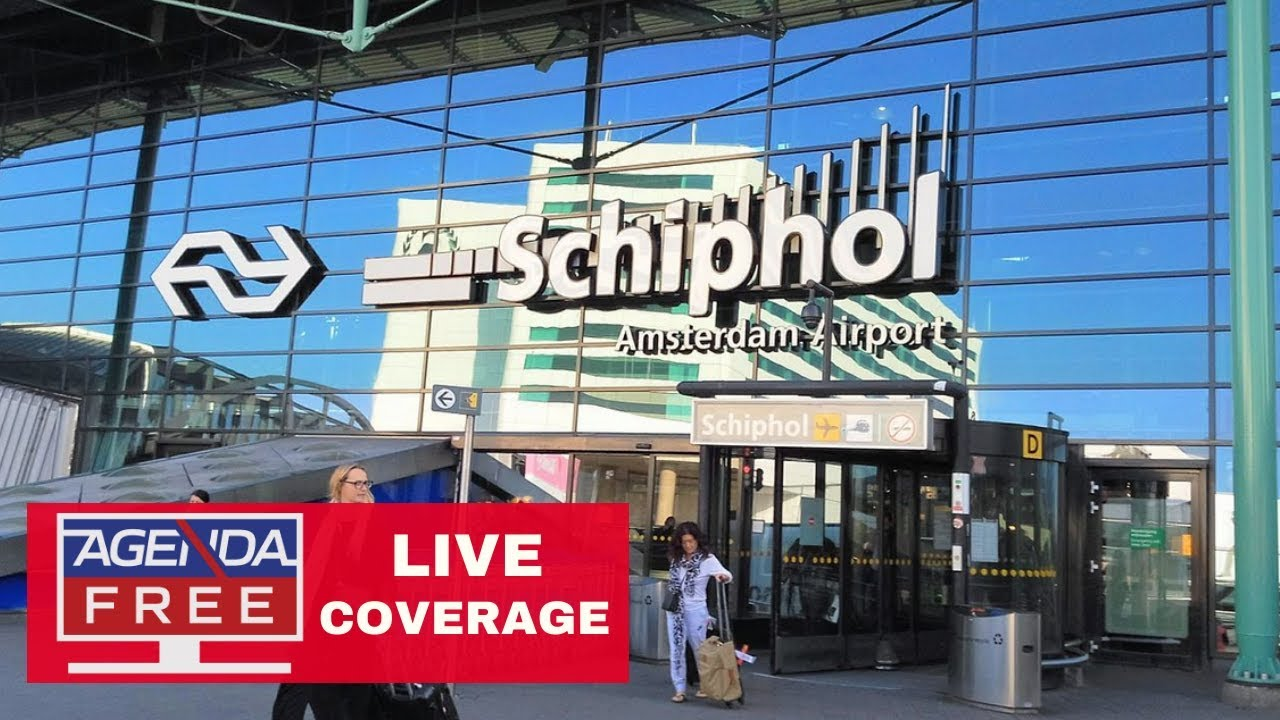 "Agenda Free TV ""Suspicious Situation"" on Plane at Schiphol Airport, Amsterdam - LIVE COVER"