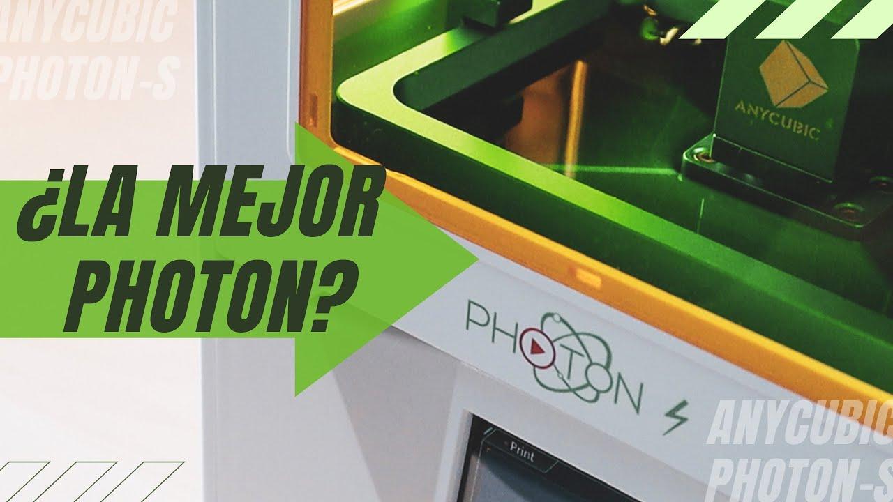 🤔¿La MEJOR Anycubic PHOTON?🤔 Anycubic Photon S   Review impresora 3D Resina en Español