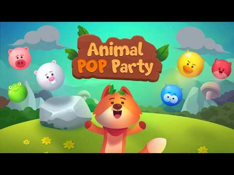 Animal Pop Party - Bubble Shooter: Forest Rescue - Official Trailer