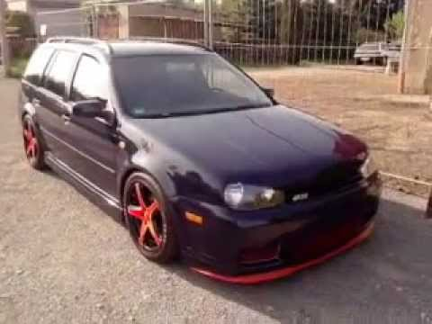 vw golf iv r32 kombi umbau youtube. Black Bedroom Furniture Sets. Home Design Ideas