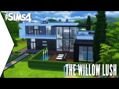 The Sims 4 Speed Build #252 - The Willow Lush
