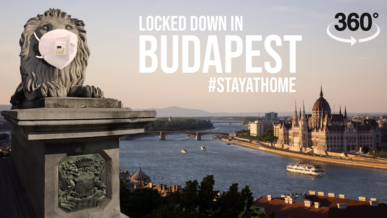 The Abandoned City of Budapest in a Global Pandemic - 360° Video | COVID-19 | #stayathome | Gaba_VR