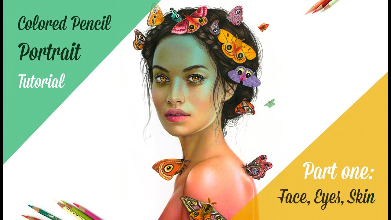 Colored Pencil Portrait Tutorial YouTube