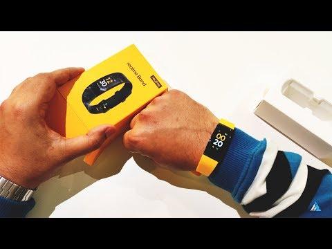 RealMe Band Review in English and Unboxing