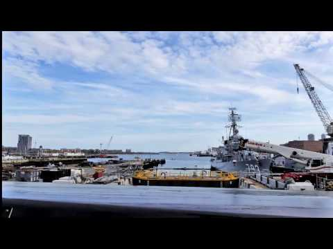Boston Trolley Tour Part 4, USS Constitution - October 2016