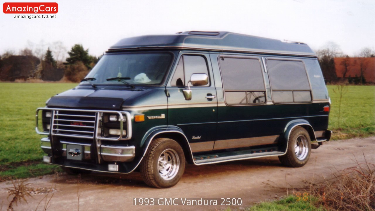 1993 gmc vandura 2500 youtube. Black Bedroom Furniture Sets. Home Design Ideas