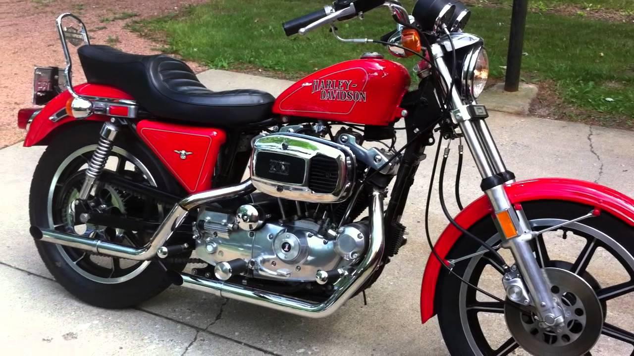 1979 Harley XLH Sportster Video 1 - YouTube