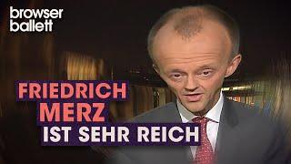 Friedrich Merz ist sehr reich