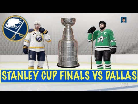 STANLEY CUP FINALS vs. DAL - NHL 17 - Buffalo Sabres GM Ep. 38