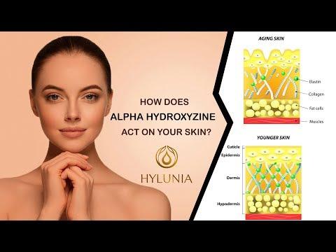 Hylunia Ingredients - Alpha Hydroxyzine - YouTube