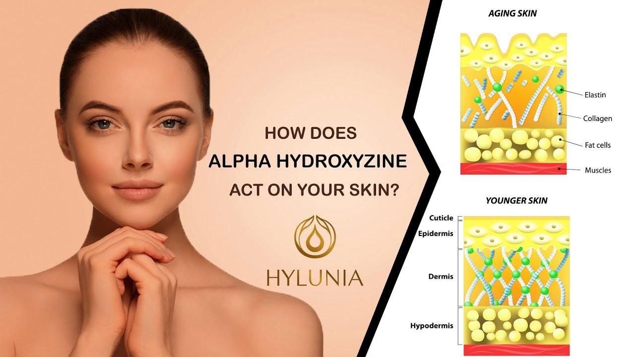Hylunia Ingredients - Alpha Hydroxyzine