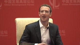 Video Jack Ma, Mark Zuckerberg Talk Innovation in Beijing download MP3, 3GP, MP4, WEBM, AVI, FLV Oktober 2018